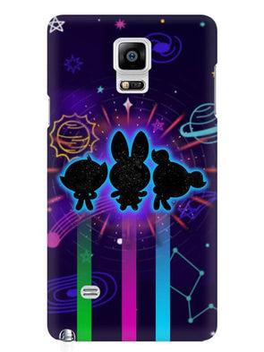 Glow Girls Mobile Cover for Samsung Note 4