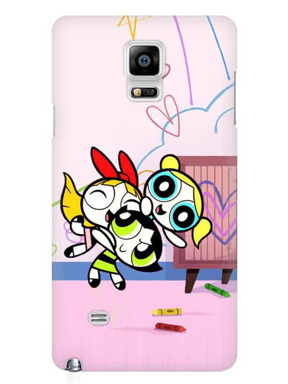 Powerpuff Girls Mobile Cover for Samsung Note 4