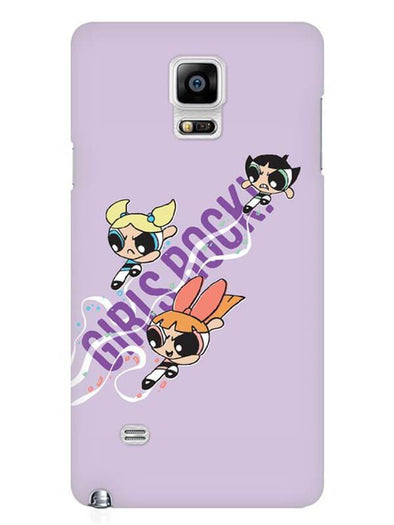 Girls Rocks Mobile Cover for Samsung Note 4