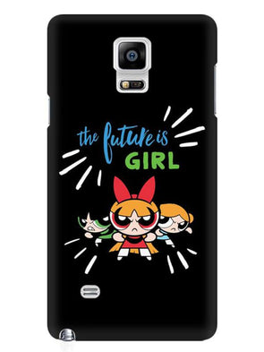 Future Is Girls Mobile Cover for Samsung Note 4