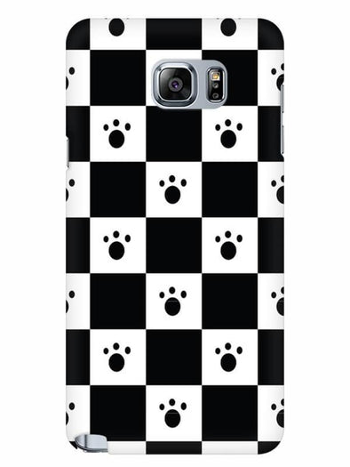 Paw Checkers Mobile Cover for Samsung Note 5