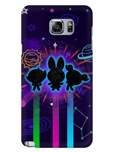 Glow Girls Mobile Cover for Samsung Note 5