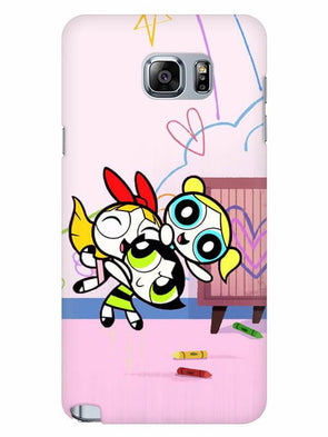 Powerpuff Girls Mobile Cover for Samsung Note 5