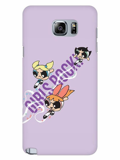 Girls Rocks Mobile Cover for Samsung Note 5