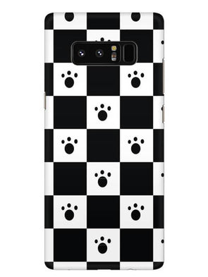 Paw Checkers Mobile Cover for Samsung Note 8
