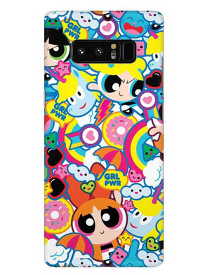 Girl Power Mobile Cover for Samsung Note 8