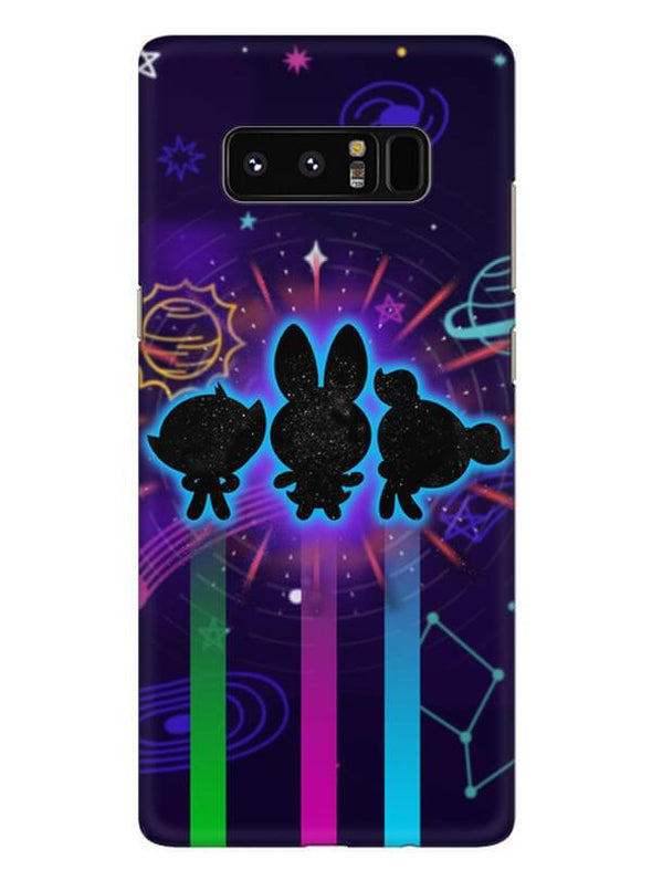 Glow Girls Mobile Cover for Samsung Note 8