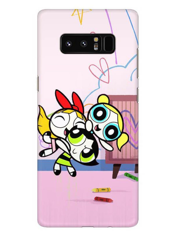 Powerpuff Girls Mobile Cover for Samsung Note 8