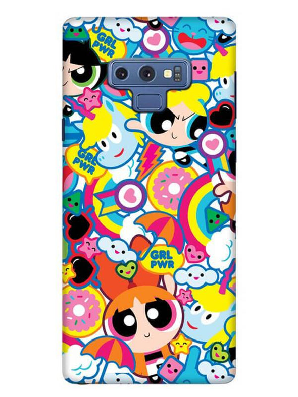 Girl Power Mobile Cover for Samsung Note 9