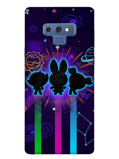 Glow Girls Mobile Cover for Samsung Note 9