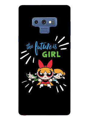Future Is Girls Mobile Cover for Samsung Note 9