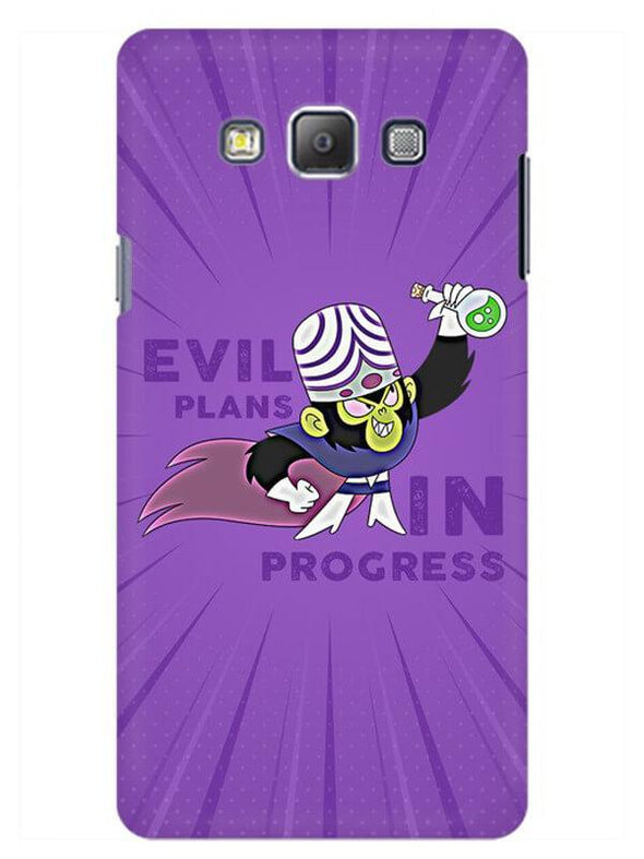 Evil Plan Mojojojo Mobile Cover for Samsung On5