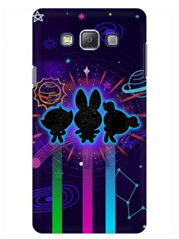 Glow Girls Mobile Cover for Samsung On7