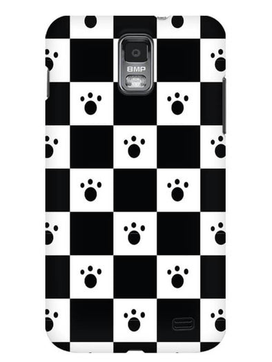 Paw Checkers Mobile Cover for Samsung s2
