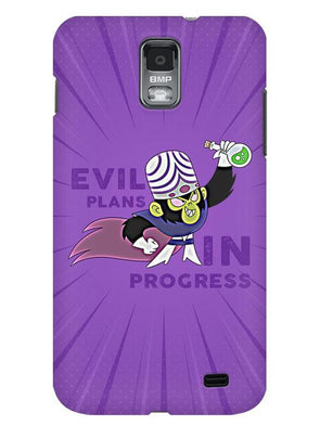 Evil Plan Mojojojo Mobile Cover for Samsung s2
