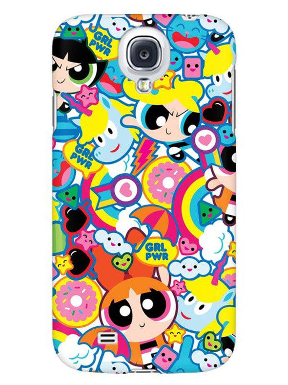 Girl Power Mobile Cover for Samsung s4