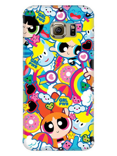 Girl Power Mobile Cover for Galaxy S6 Edge