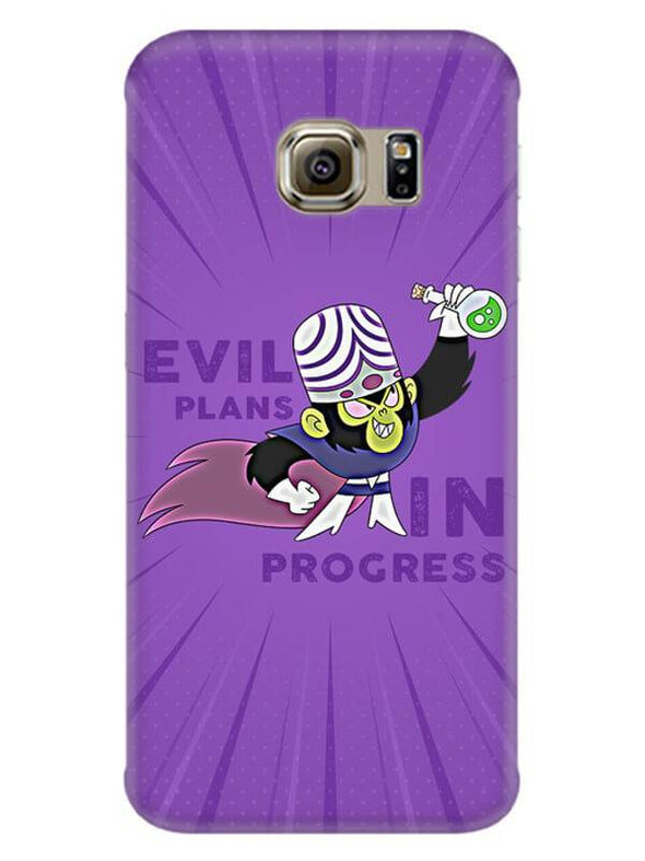 Evil Plan Mojojojo Mobile Cover for Galaxy S6 Edge