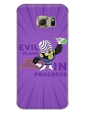 Evil Plan Mojojojo Mobile Cover for Galaxy S6