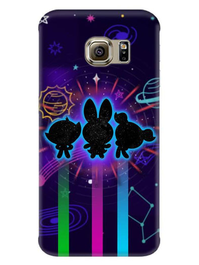 Glow Girls Mobile Cover for Galaxy S6
