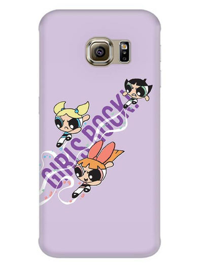 Girls Rocks Mobile Cover for Galaxy S7 Edge