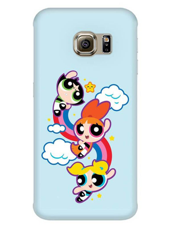 Girls Fun Mobile Cover for Galaxy S7 Edge