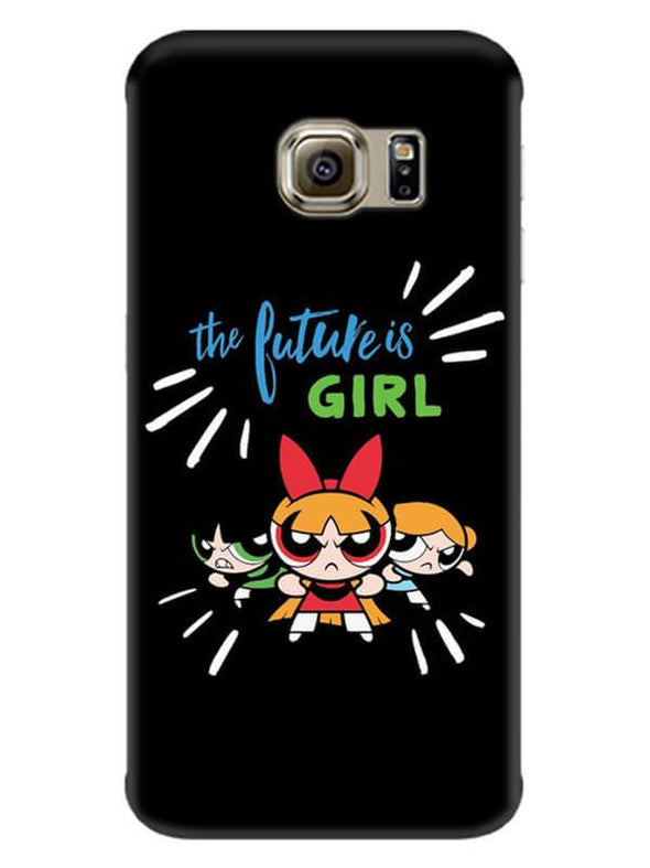 Future Is Girls Mobile Cover for Galaxy S7