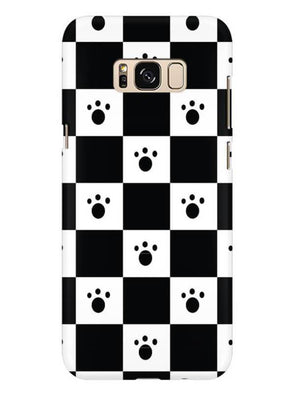 Paw Checkers Mobile Cover for Galaxy S8