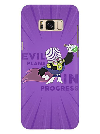 Evil Plan Mojojojo Mobile Cover for Galaxy S8
