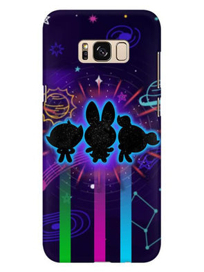 Glow Girls Mobile Cover for Galaxy S8