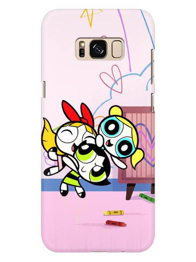 Powerpuff Girls Mobile Cover for Galaxy S8