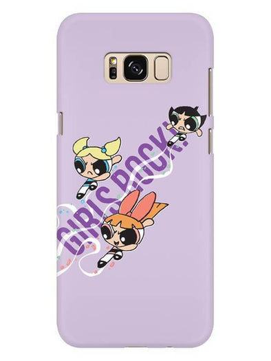 Girls Rocks Mobile Cover for Galaxy S8