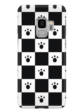 Paw Checkers Mobile Cover for Samsung s9