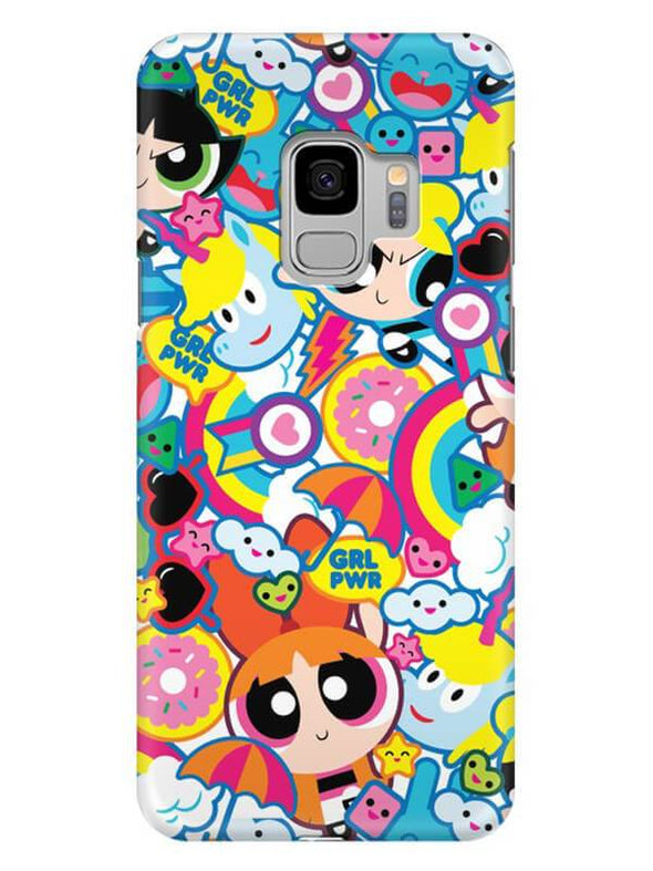 Girl Power Mobile Cover for Samsung s9