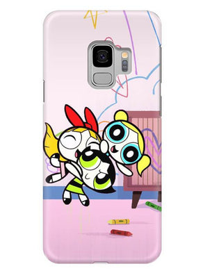 Powerpuff Girls Mobile Cover for Samsung s9
