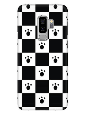 Paw Checkers Mobile Cover for Samsung s9 Plus