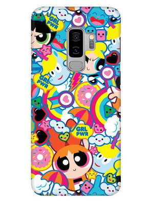 Girl Power Mobile Cover for Samsung s9 Plus
