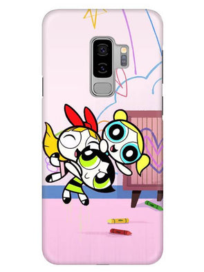 Powerpuff Girls Mobile Cover for Samsung s9 Plus