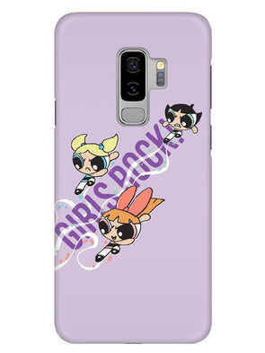 Girls Rocks Mobile Cover for Samsung s9 Plus
