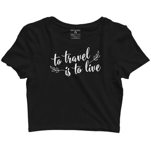 Travel Crop Tops
