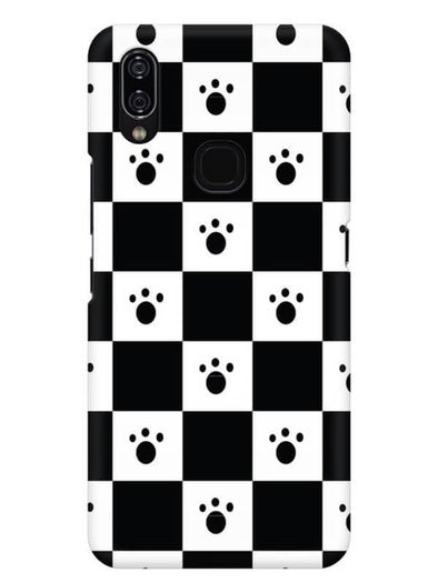 Paw Checkers Mobile Cover for Vivo Nex A