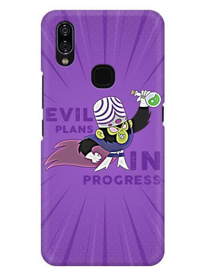 Evil Plan Mojojojo Mobile Cover for Vivo Nex A