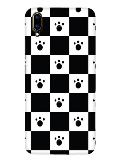 Paw Checkers Mobile Cover for Vivo V11 Pro