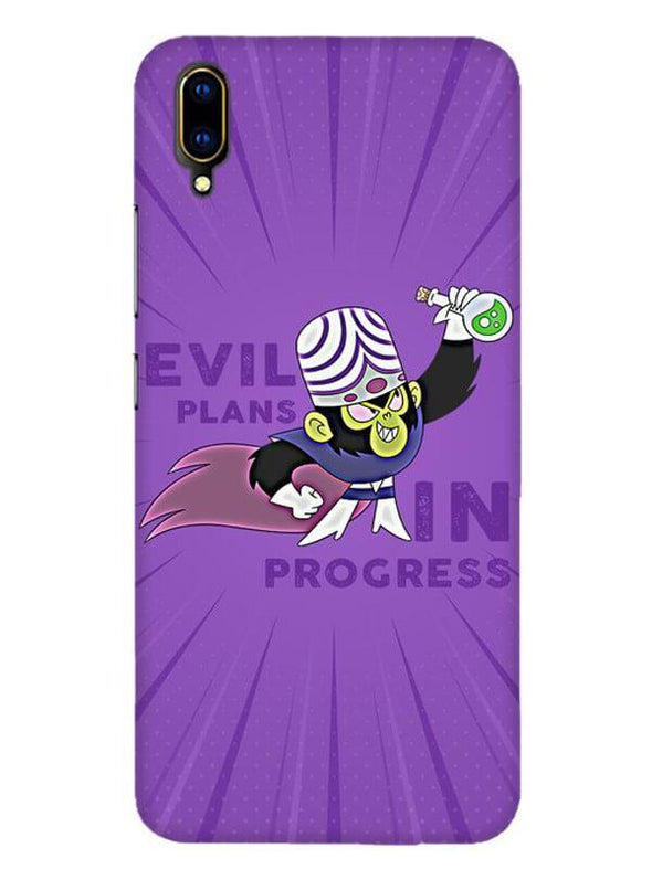 Evil Plan Mojojojo Mobile Cover for Vivo V11 Pro