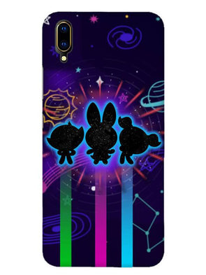 Glow Girls Mobile Cover for Vivo V11 Pro