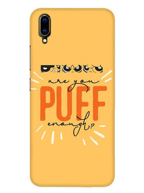 Are You Puff Enough Mobile Cover for Vivo V11 Pro