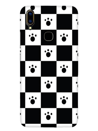 Paw Checkers Mobile Cover for Vivo V11i
