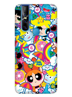 Girl Power Mobile Cover for Vivo 15