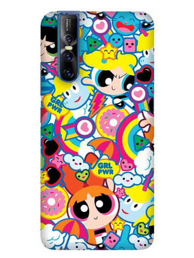Girl Power Mobile Cover for Vivo 15 Pro