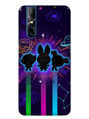 Glow Girls Mobile Cover for Vivo 15 Pro